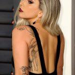 Тату Леди Гаги - фото примеры рисунков татуировки 1232312323