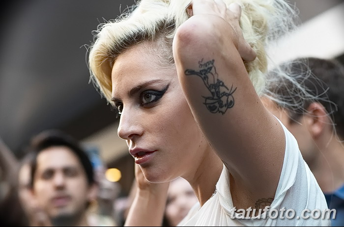 фото Тату Леди Гаги от 25.08.2017 №002 - Tattoo 13 - Lady Gaga Tattoo - tatufoto.com 23423422