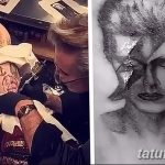 фото Тату Леди Гаги от 25.08.2017 №011 - Tattoo 13 - Lady Gaga Tattoo - tatufoto.com