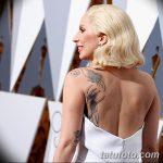 фото Тату Леди Гаги от 25.08.2017 №025 - Tattoo 13 - Lady Gaga Tattoo - tatufoto.com