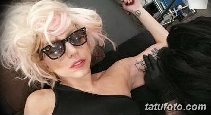 фото Тату Леди Гаги от 25.08.2017 №044 - Tattoo 13 - Lady Gaga Tattoo - tatufoto.com
