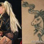 фото Тату Леди Гаги от 25.08.2017 №047 - Tattoo 13 - Lady Gaga Tattoo - tatufoto.com