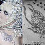 фото Тату Леди Гаги от 25.08.2017 №051 - Tattoo 13 - Lady Gaga Tattoo - tatufoto.com