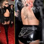 фото Тату Леди Гаги от 25.08.2017 №053 - Tattoo 13 - Lady Gaga Tattoo - tatufoto.com