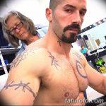 фото Тату Скота Эдкинса (Юрия Бойко) от 27.08.2017 №008 - Scottish Adkins Tattoo