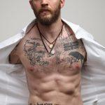 фото Тату Тома Харди от 07.08.2017 №003 - Tom Hardy's Tattoo_tatufoto.com