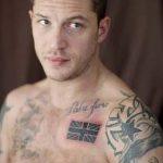 фото Тату Тома Харди от 07.08.2017 №015 - Tom Hardy's Tattoo_tatufoto.com