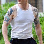 фото Тату Тома Харди от 07.08.2017 №016 - Tom Hardy's Tattoo_tatufoto.com