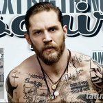фото Тату Тома Харди от 07.08.2017 №030 - Tom Hardy's Tattoo_tatufoto.com