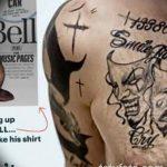 фото Тату Тома Харди от 07.08.2017 №042 - Tom Hardy's Tattoo_tatufoto.com