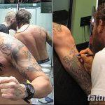 фото Тату Тома Харди от 07.08.2017 №046 - Tom Hardy's Tattoo_tatufoto.com