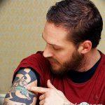 фото Тату Тома Харди от 07.08.2017 №049 - Tom Hardy's Tattoo_tatufoto.com