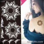 фото Трафареты мехенди от 19.08.2017 №006 - Mehendi stencils_tatufoto.com