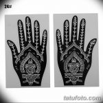 фото Трафареты мехенди от 19.08.2017 №011 - Mehendi stencils_tatufoto.com