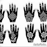 фото Трафареты мехенди от 19.08.2017 №035 - Mehendi stencils_tatufoto.com
