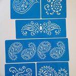 фото Трафареты мехенди от 19.08.2017 №037 - Mehendi stencils_tatufoto.com