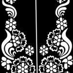 фото Трафареты мехенди от 19.08.2017 №038 - Mehendi stencils_tatufoto.com