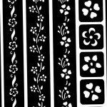 фото Трафареты мехенди от 19.08.2017 №048 - Mehendi stencils_tatufoto.com