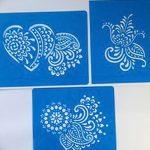 фото Трафареты мехенди от 19.08.2017 №057 - Mehendi stencils_tatufoto.com