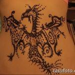 фото дракон хной от 02.08.2017 №060 - Dragon henna_tatufoto.com