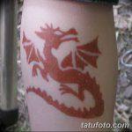 фото дракон хной от 02.08.2017 №094 - Dragon henna_tatufoto.com
