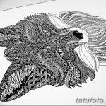 фото мехенди лиса от 01.08.2017 №024 - Mehendi fox_tatufoto.com 123131323231