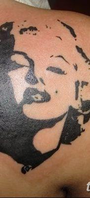 фото тату Мэрилин Монро от 08.08.2017 №002 – Tattoo Marilyn Monroe_tatufoto.com