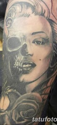 фото тату Мэрилин Монро от 08.08.2017 №003 – Tattoo Marilyn Monroe_tatufoto.com
