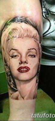 фото тату Мэрилин Монро от 08.08.2017 №008 – Tattoo Marilyn Monroe_tatufoto.com