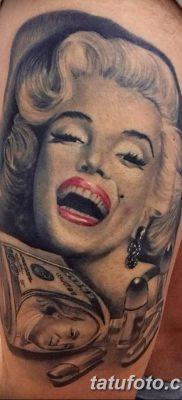 фото тату Мэрилин Монро от 08.08.2017 №008 – Tattoo Marilyn Monroe_tatufoto.com 1231231