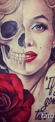 фото тату Мэрилин Монро от 08.08.2017 №010 – Tattoo Marilyn Monroe_tatufoto.com