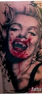 фото тату Мэрилин Монро от 08.08.2017 №011 – Tattoo Marilyn Monroe_tatufoto.com
