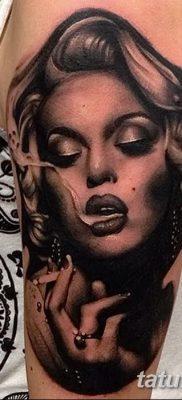 фото тату Мэрилин Монро от 08.08.2017 №012 – Tattoo Marilyn Monroe_tatufoto.com