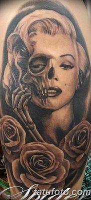 фото тату Мэрилин Монро от 08.08.2017 №013 – Tattoo Marilyn Monroe_tatufoto.com