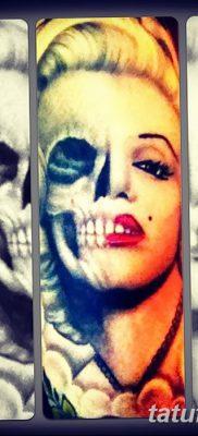фото тату Мэрилин Монро от 08.08.2017 №018 – Tattoo Marilyn Monroe_tatufoto.com
