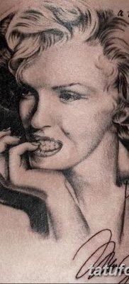 фото тату Мэрилин Монро от 08.08.2017 №020 – Tattoo Marilyn Monroe_tatufoto.com