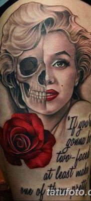 фото тату Мэрилин Монро от 08.08.2017 №021 – Tattoo Marilyn Monroe_tatufoto.com