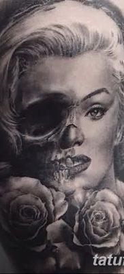 фото тату Мэрилин Монро от 08.08.2017 №023 – Tattoo Marilyn Monroe_tatufoto.com