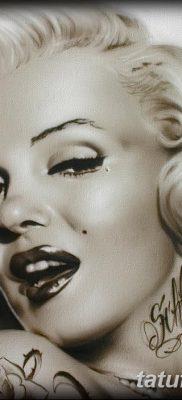 фото тату Мэрилин Монро от 08.08.2017 №024 – Tattoo Marilyn Monroe_tatufoto.com