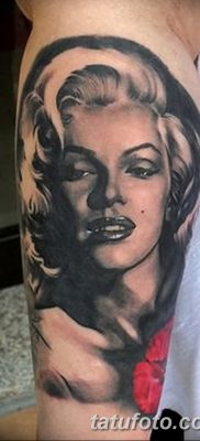 фото тату Мэрилин Монро от 08.08.2017 №027 – Tattoo Marilyn Monroe_tatufoto.com