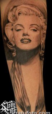 фото тату Мэрилин Монро от 08.08.2017 №028 – Tattoo Marilyn Monroe_tatufoto.com