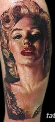 фото тату Мэрилин Монро от 08.08.2017 №030 – Tattoo Marilyn Monroe_tatufoto.com