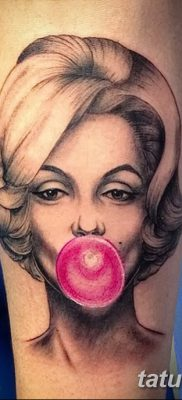 фото тату Мэрилин Монро от 08.08.2017 №038 – Tattoo Marilyn Monroe_tatufoto.com
