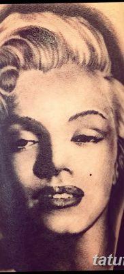 фото тату Мэрилин Монро от 08.08.2017 №040 – Tattoo Marilyn Monroe_tatufoto.com