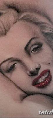 фото тату Мэрилин Монро от 08.08.2017 №041 – Tattoo Marilyn Monroe_tatufoto.com