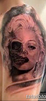 фото тату Мэрилин Монро от 08.08.2017 №042 – Tattoo Marilyn Monroe_tatufoto.com