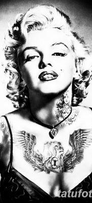 фото тату Мэрилин Монро от 08.08.2017 №043 – Tattoo Marilyn Monroe_tatufoto.com