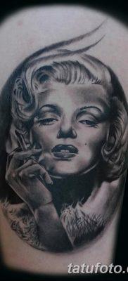 фото тату Мэрилин Монро от 08.08.2017 №045 – Tattoo Marilyn Monroe_tatufoto.com