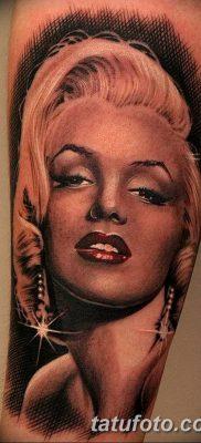 фото тату Мэрилин Монро от 08.08.2017 №046 – Tattoo Marilyn Monroe_tatufoto.com