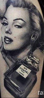 фото тату Мэрилин Монро от 08.08.2017 №049 – Tattoo Marilyn Monroe_tatufoto.com